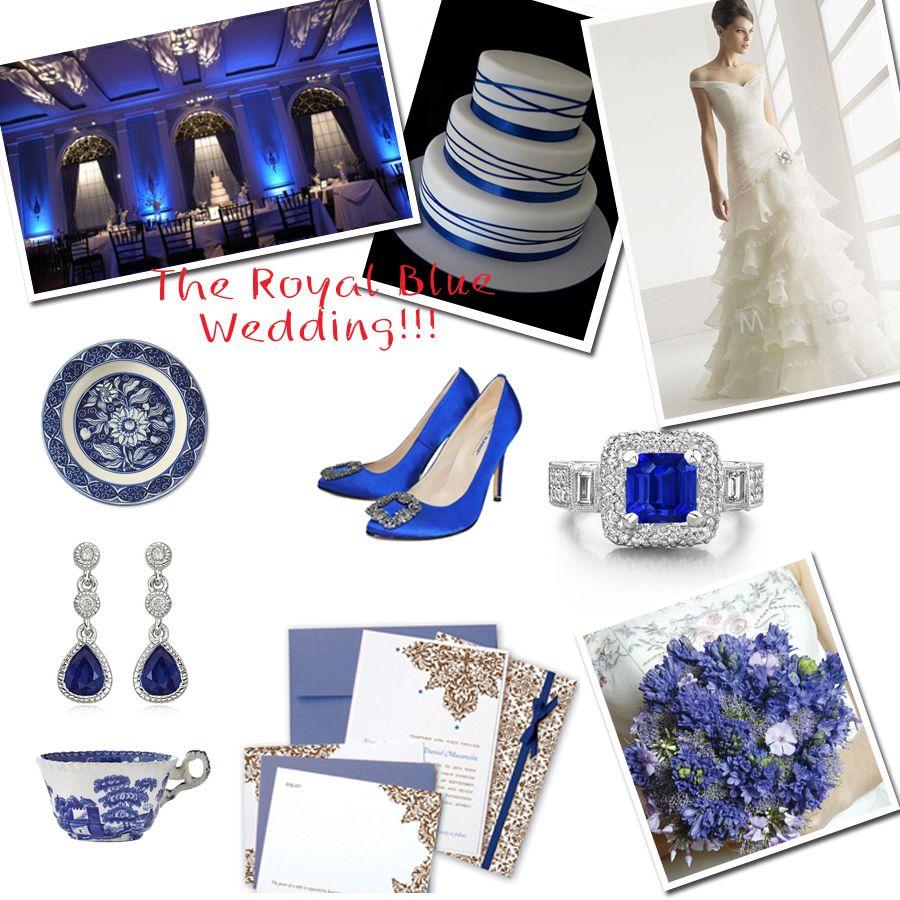 Royal Blue Wedding Inspiration Accessory   My Wedding...when it ...