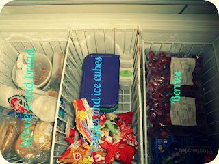 Nz Ecochick Organising My Chest Freezer Chest Freezer Chest Freezer Organization Freezer Organization