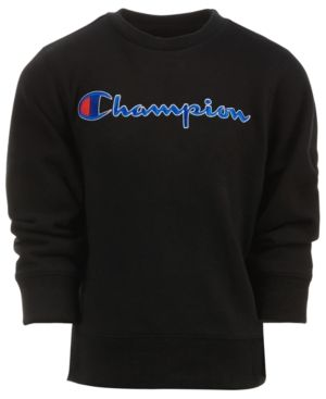 617adb33d6c9 Champion Toddler Boys Heritage Embroidered Logo Sweatshirt - Black ...