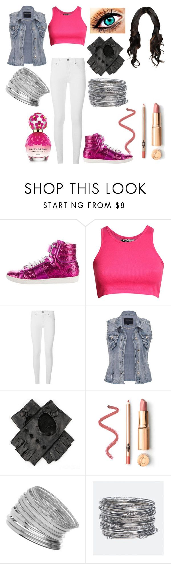 """""""Untitled #1017"""" by nerdynerdy ❤ liked on Polyvore featuring Yves Saint Laurent, Pilot, Burberry, maurices, Black, Miss Selfridge, Avenue and Marc Jacobs"""