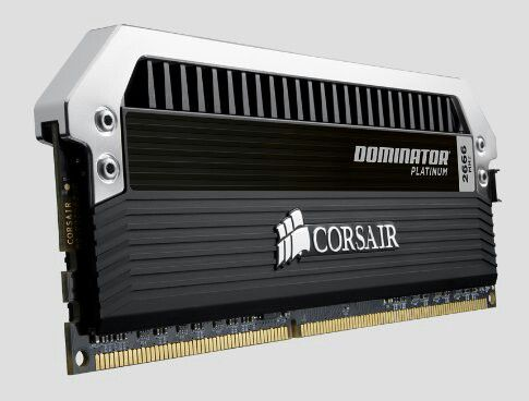Corsair Dominator Platinum, it's all about the looks with these ram. 16GB is more then enough, even 8 would be plenty for this build.