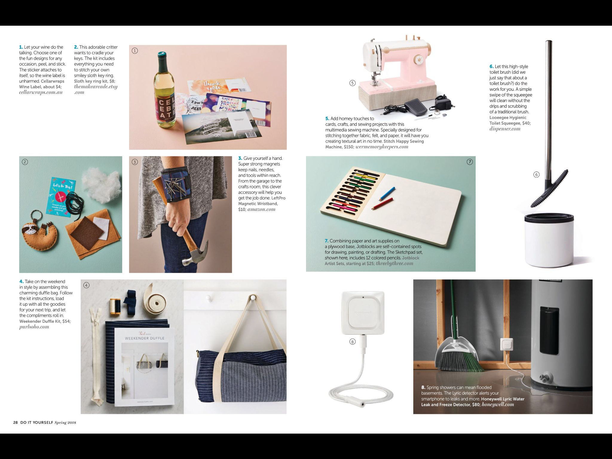 On Our Radar From Do It Yourself Magazine Spring 2018 Read Learn More At Help Com