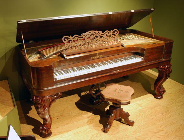 Antique pianos at the 1867 World's Fair By Wayne Jordan