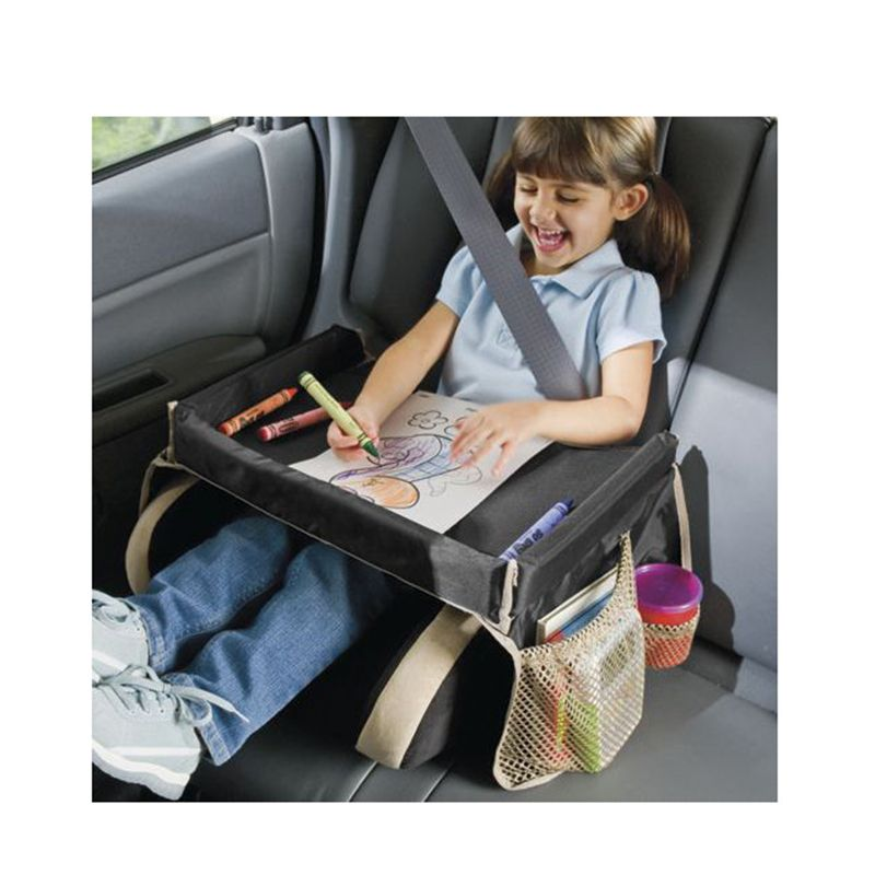 baby seat covers kids car seat draw tray toddlers car safety belt travel play drawing tray