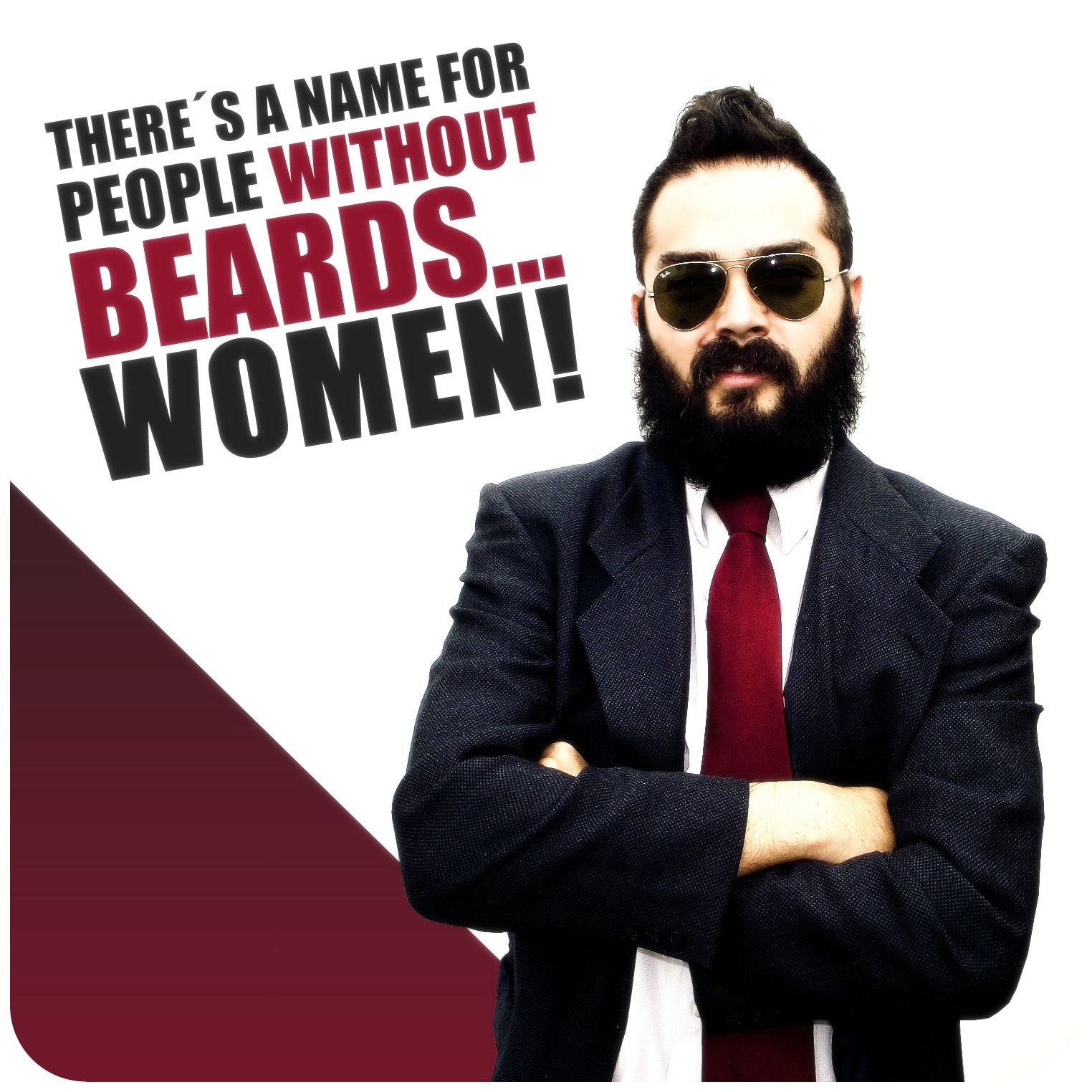 There S A Name For People Without Beard Women Chic Beard