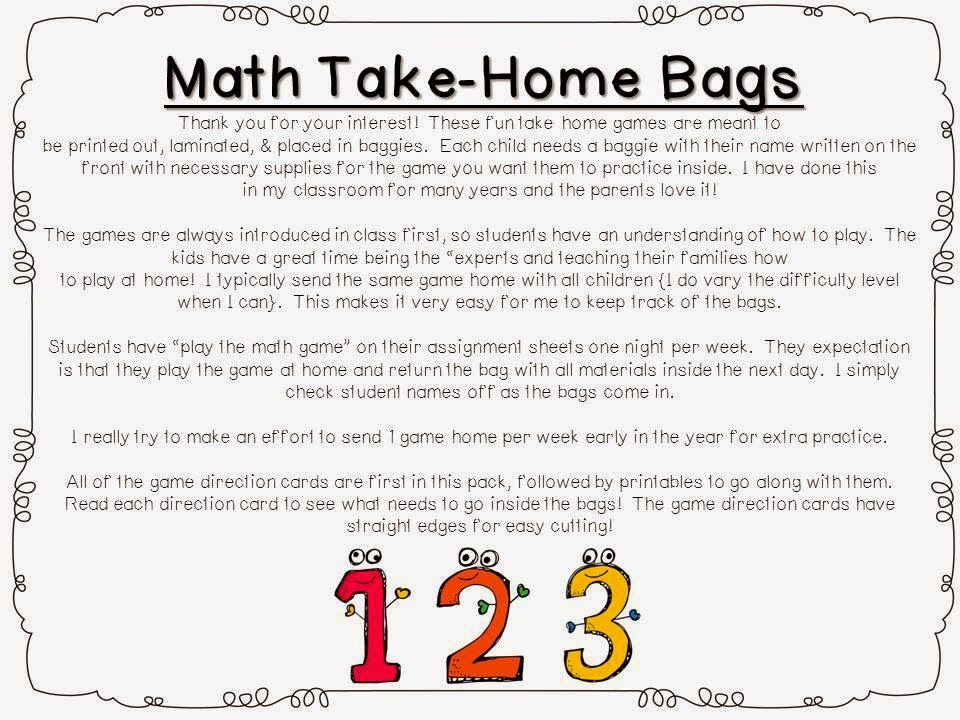 Making School-to-Home Connections | Teaching math, Home ...