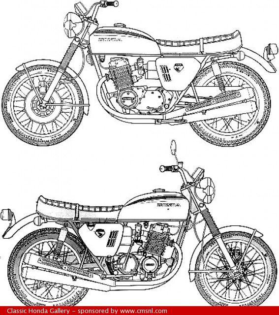Honda CB750 Four Owner/'s Manual Vintage Classic Bike Motorcycle