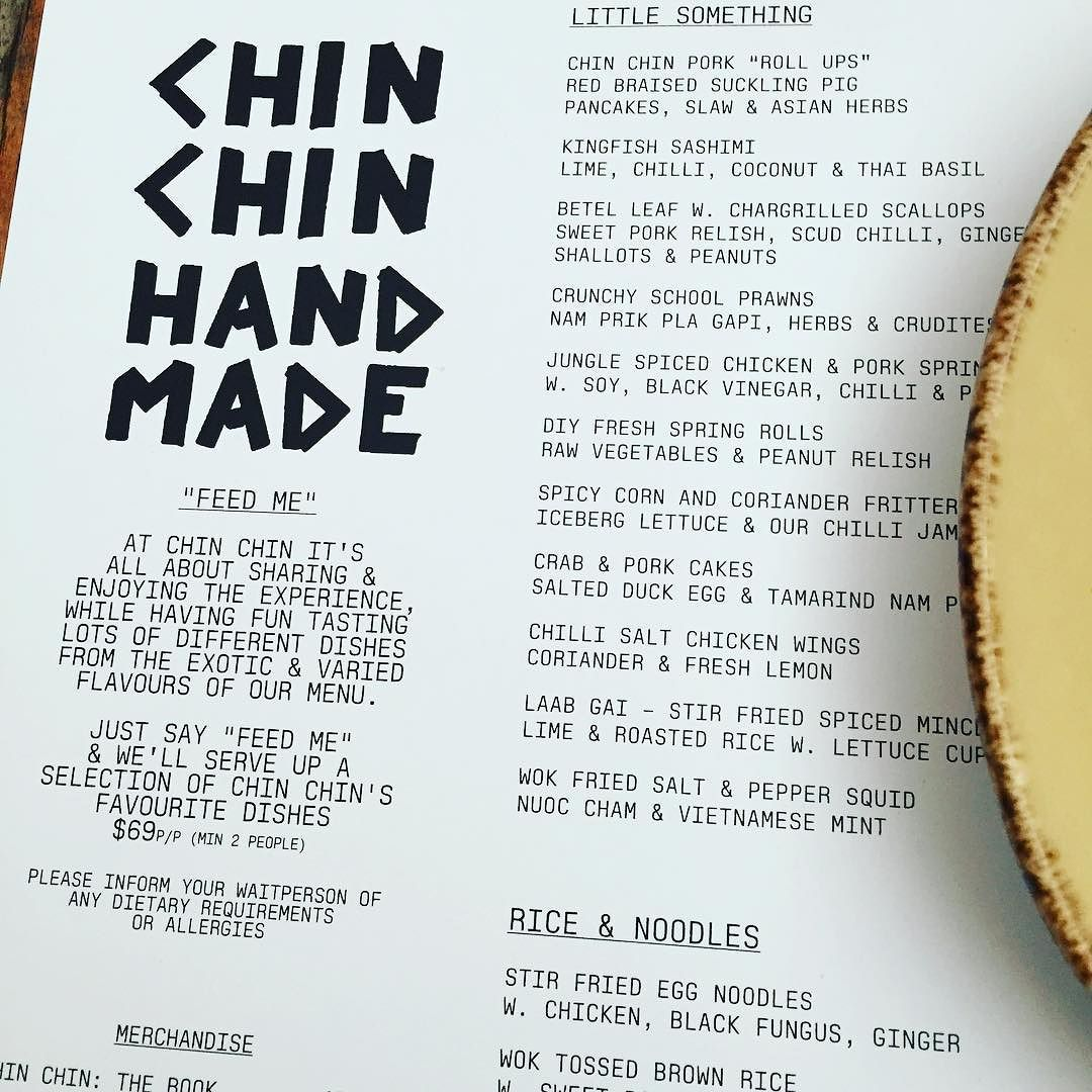 Having a sneaky midweek getaway and stopped by my favorite restaurant! @chinchinrestaurant being on the feast!