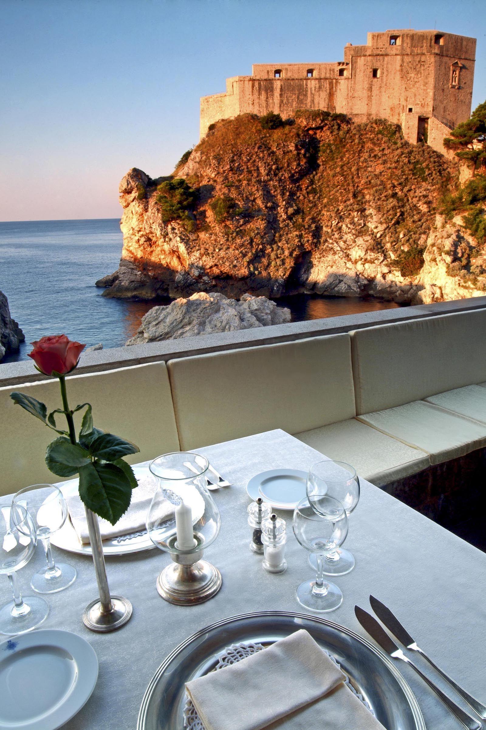 Nautika Restaurant Dubrovnik S Finest Restaurant Romantic Restaurant Dubrovnik Fine Restaurant