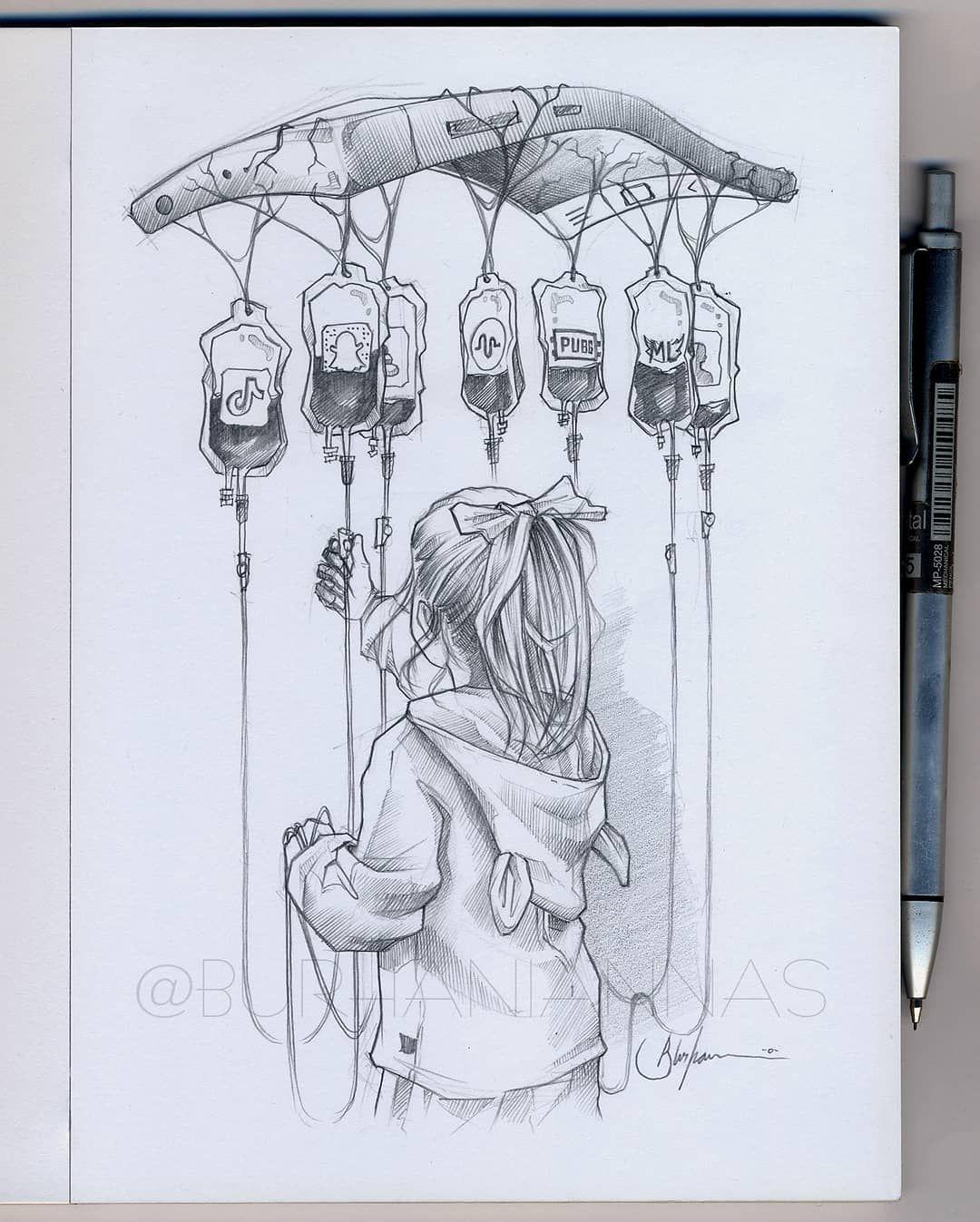 Coup de coeur : les superbes dessins crayonnés d'Annas Burhani