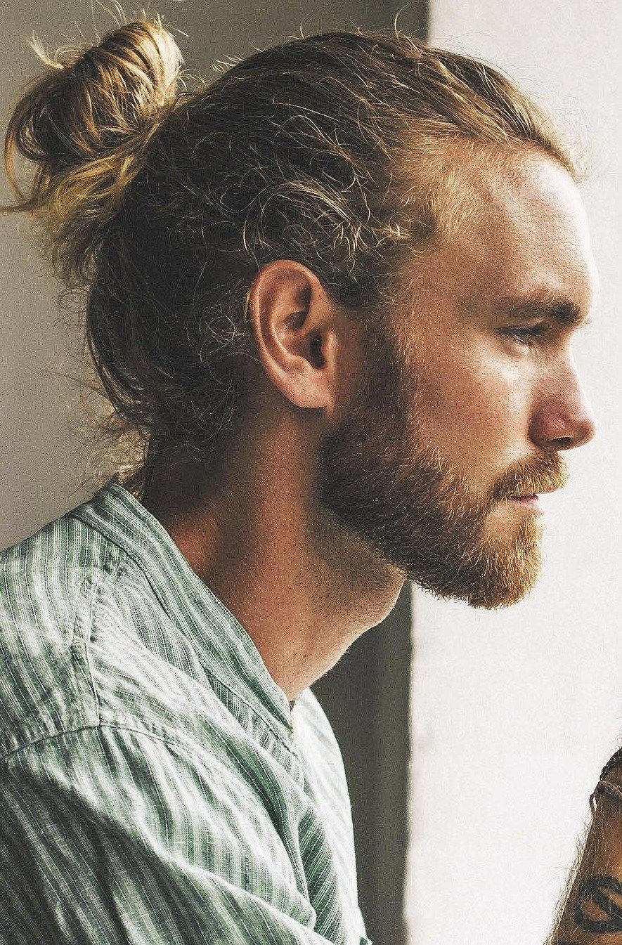 The High Ponytail Hairstyle For Men In 2020 Man Ponytail Long Hair Styles Men Mens Ponytail Hairstyles