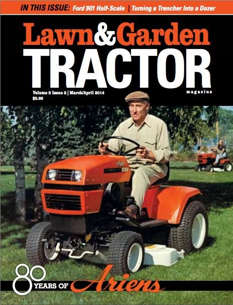 Lawn Garden Tractor Magazine 80 years of Ariens Products We