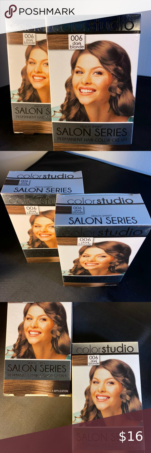 2 Boxes Of Dark Blonde Permanent Hair Color In 2020 Permanent Hair Color Dark Blonde Hair Color