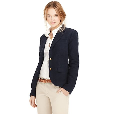 27c9a69d05f Tommy Hilfiger women s blazer. Our iconic moleskin blazer is noted for its  softness and durability (it feels almost like velvet).