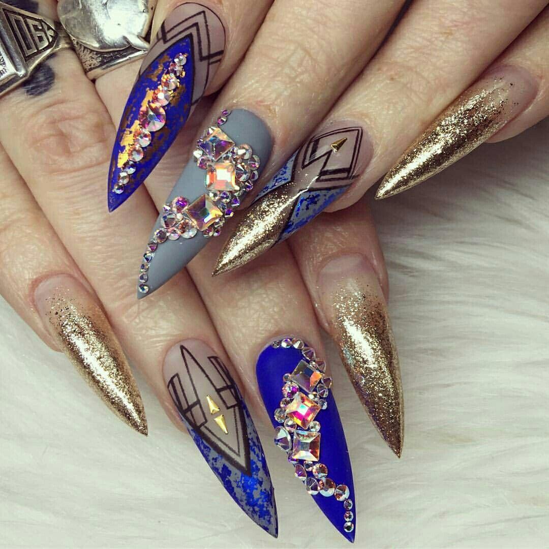 Pinterest @IIIannaIII | Nails ✨ | Pinterest | Nail nail, Edgy nails ...