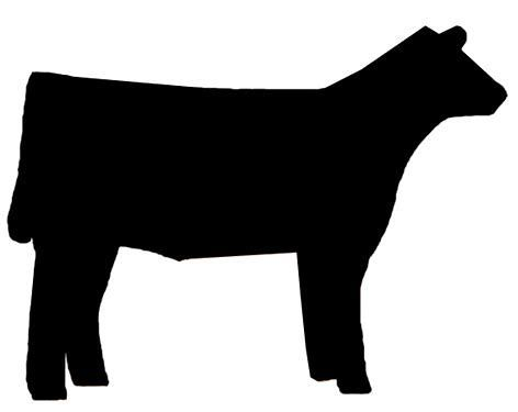 image result for show livestock silhouette clip art cow stuff rh pinterest co uk