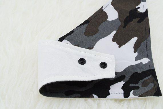 Camo Camouflage Bandana Bib