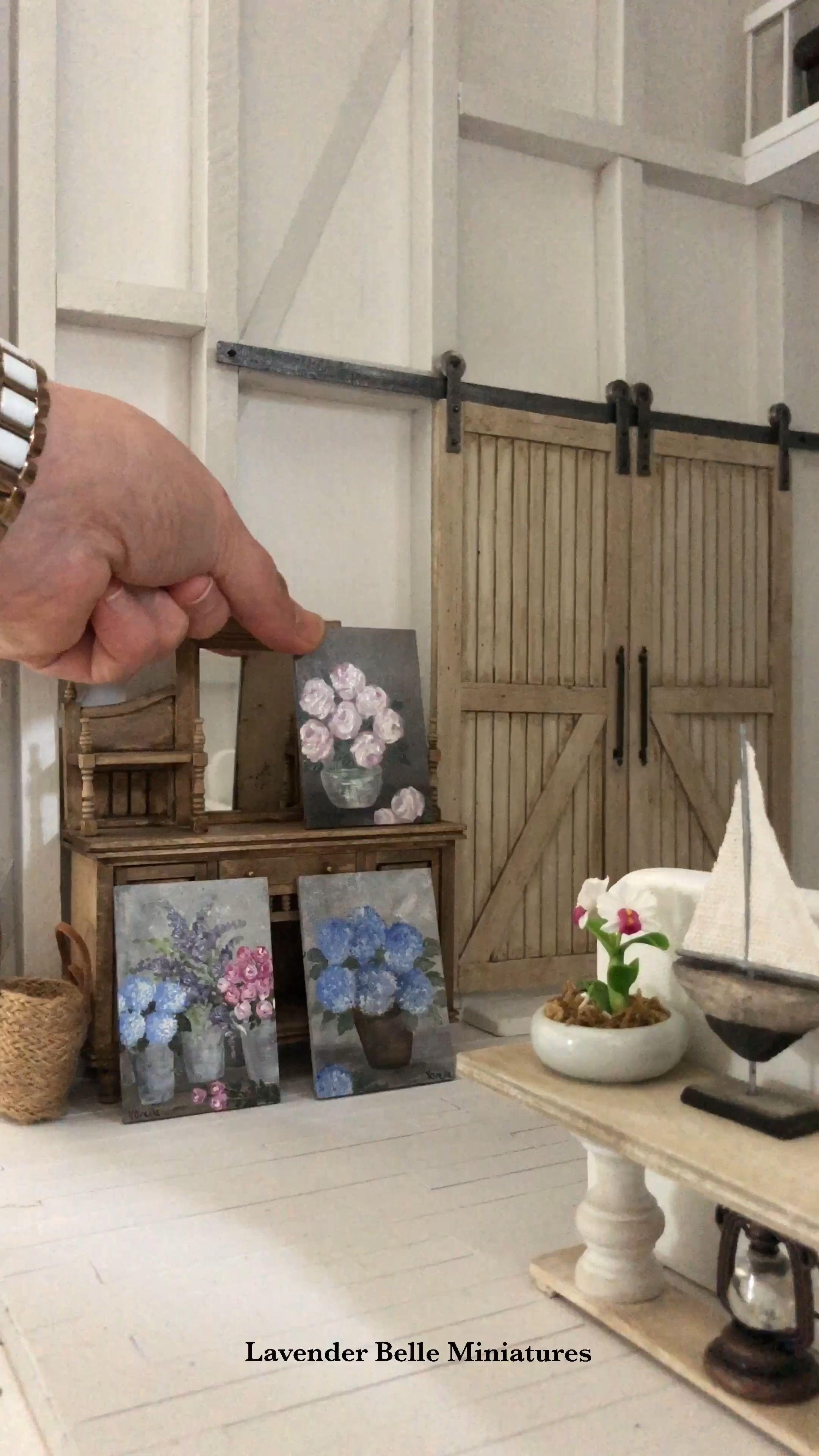 Miniature flower paintings �