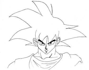 Goku De Dragon Ball Como Dibujar A Goku Como Dibujar Dibujo Paso A Paso