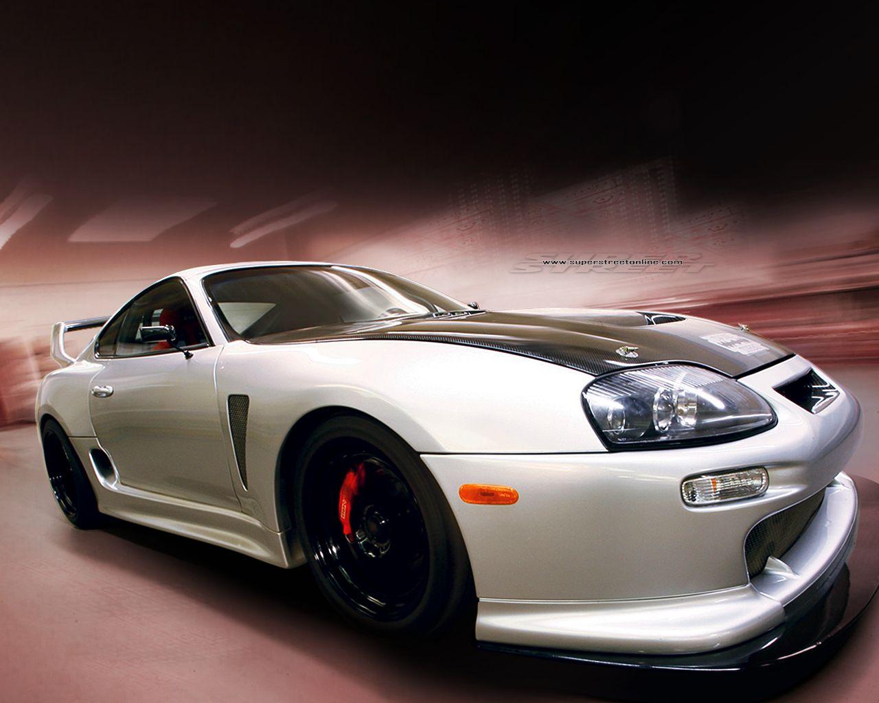 White Supra Wallpaper Hd Resolution Su4 Cars Pinterest Toyota