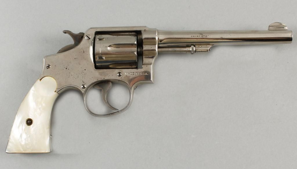 Smith & Wesson Mdl Hand Ejector Cal .32-20 SN:1356Model of 1903 ...