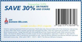 Sherwin Williams Coupons Sherwin Williams Coupon Free Printable