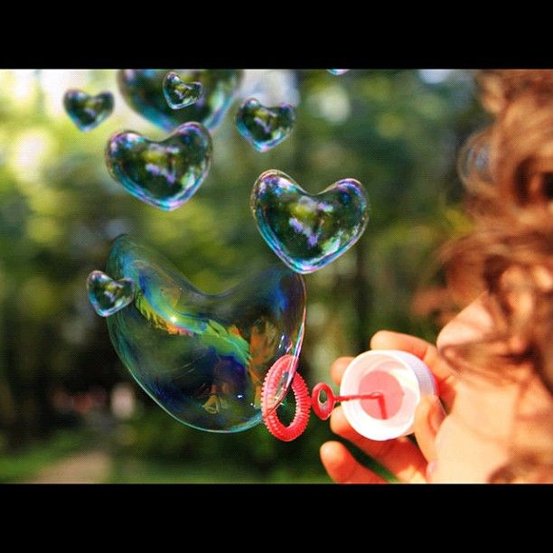 Heart bubbles ❤