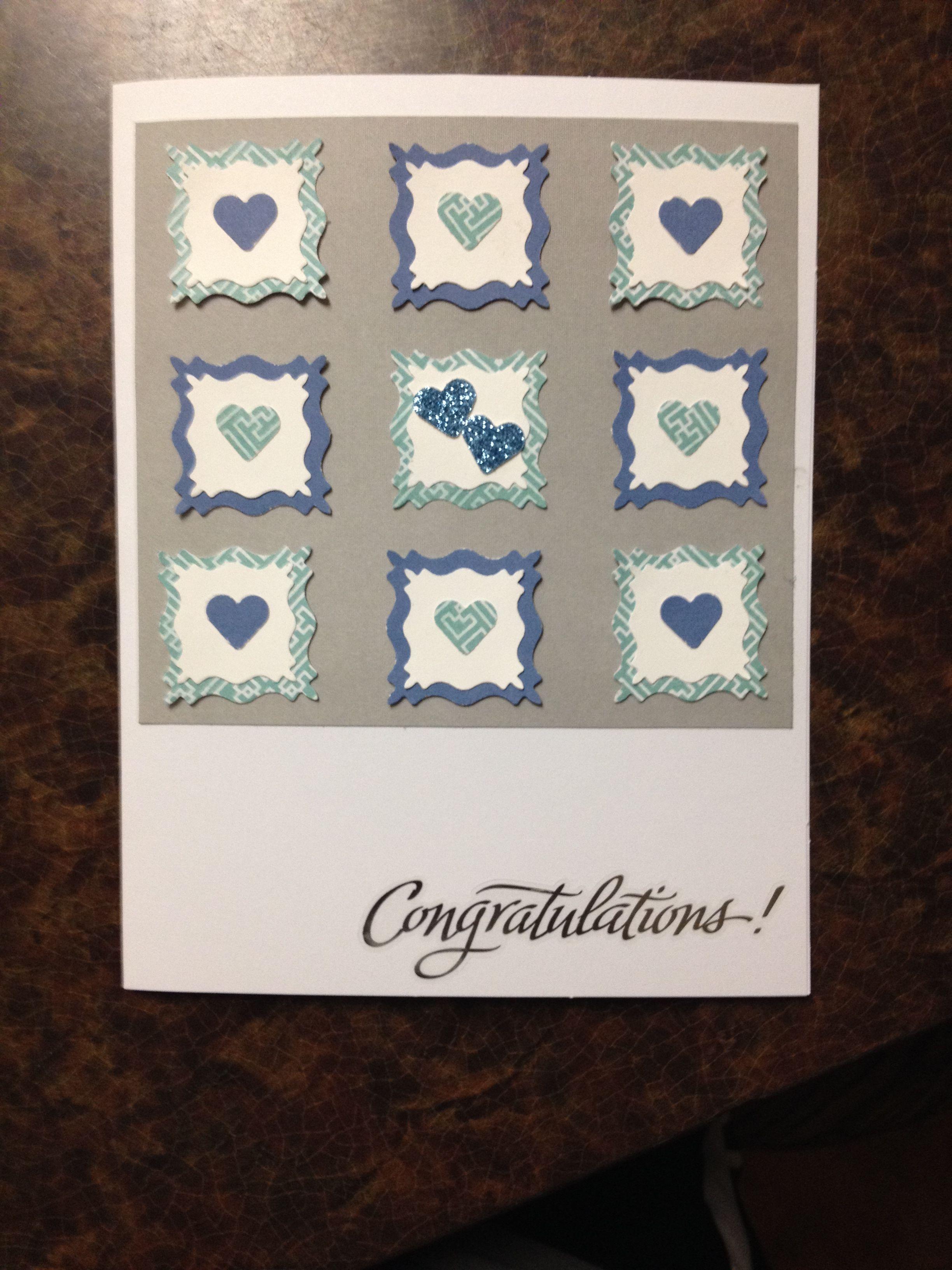 Congratulations wedding card diy wedding card diy