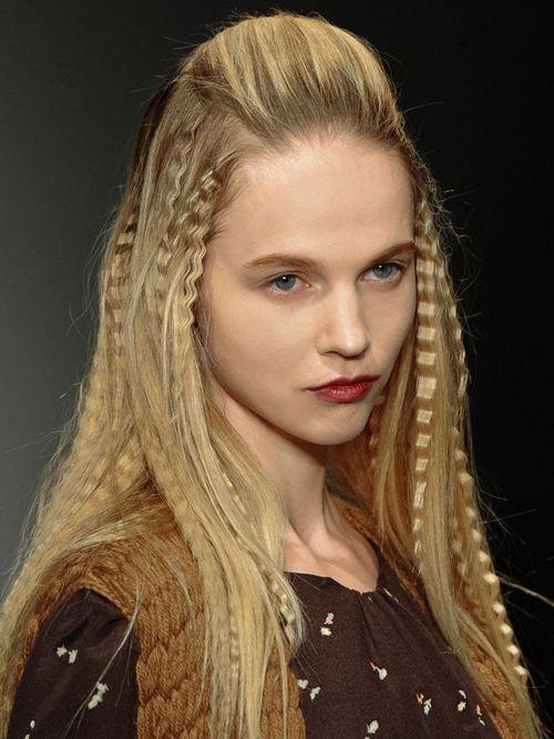 cheveux gaufres en 2019 Cheveux gaufrés, Coiffure