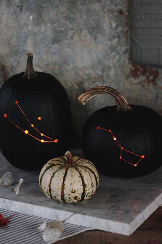 11 Surprisingly Chic Halloween Decor Ideas Halloween Pinterest