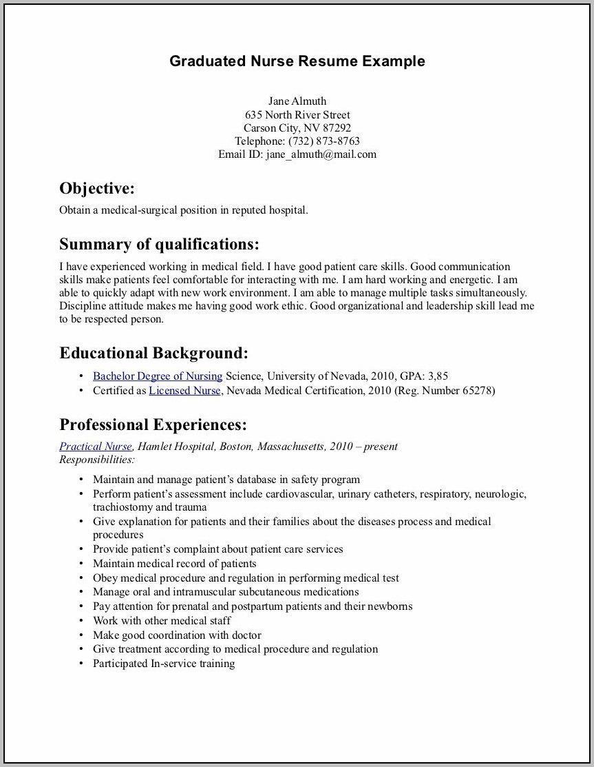 Getting Help Writing Stellar Resumes Using Good Resume Examples