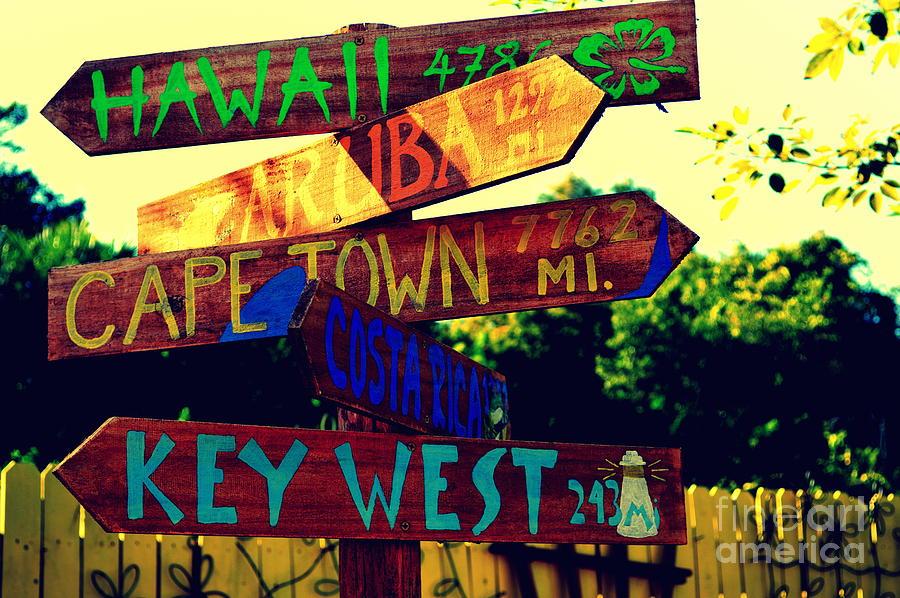 How Far is it To Key West by Susanne Van Hulst Key west