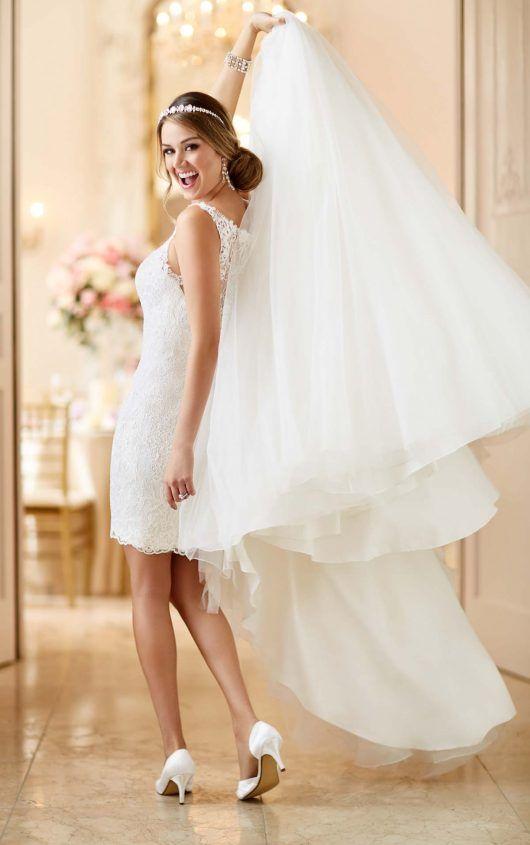 Convertible Wedding Dress   Convertible wedding dresses, Stella york ...