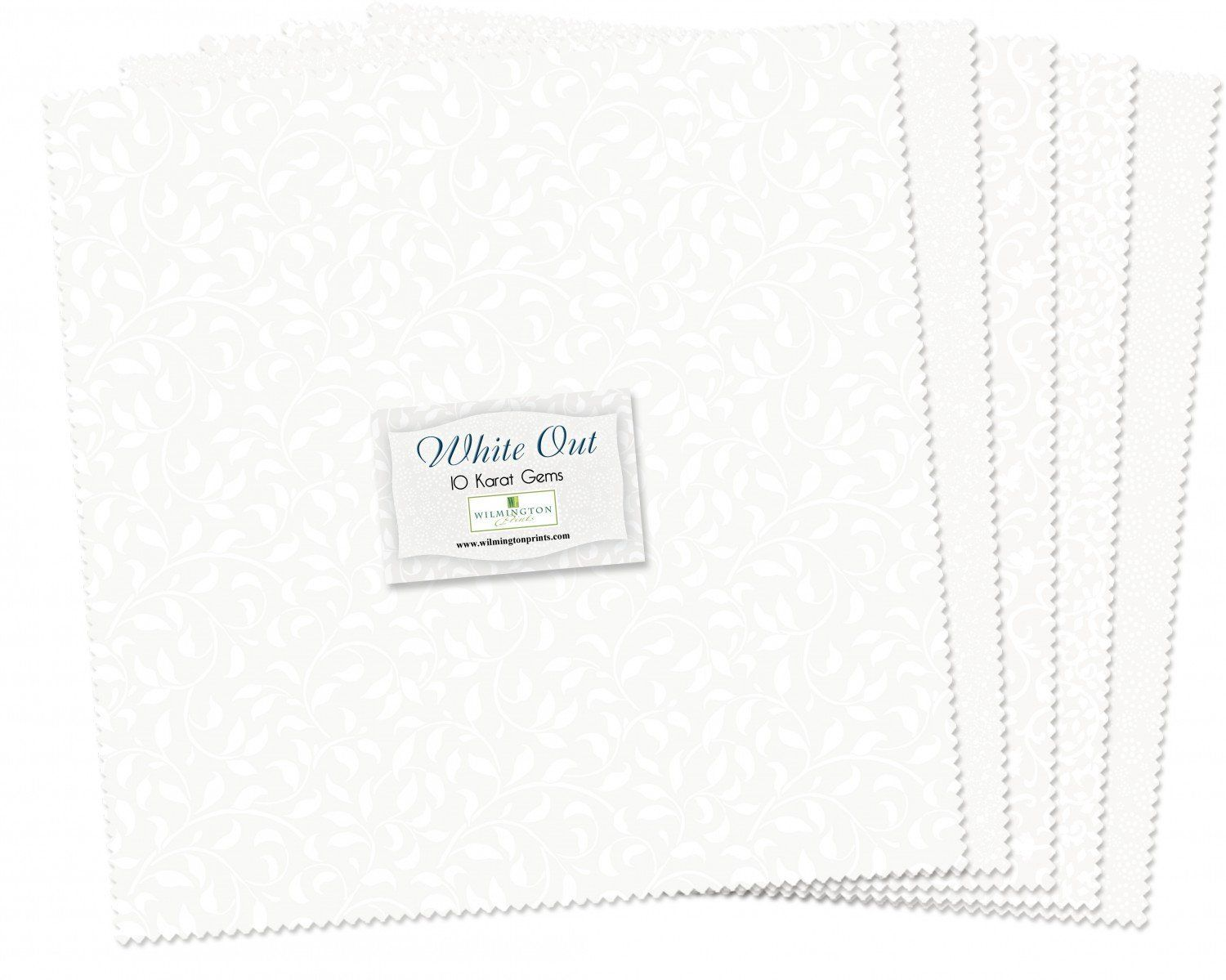 White On White Layer Cake Essentials White Out 10 Inch Precut Fabric Squares Wilmington Prints Precut Fabric