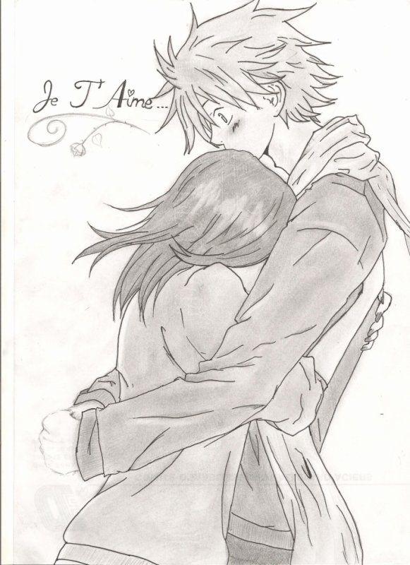 Dessin couple recherche google dessiner un couple - Dessin manga amoureux ...
