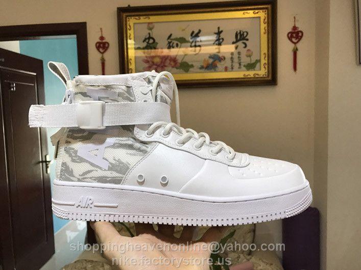 Best Drop Shipping Nike Air Force 1 Flyknit Couple Skateboard shoes black[817419-010]