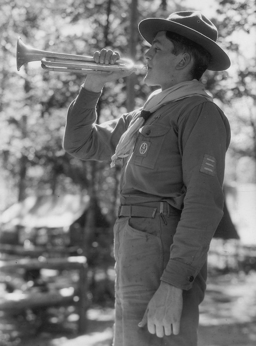 Encourage your Scouts to answer the call to bugle Scout