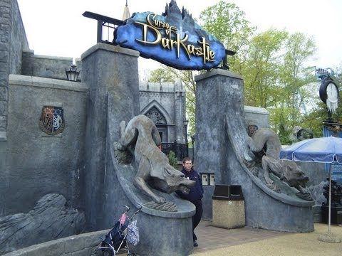 Curse Of Darkastle Pre Show Busch Gardens Williamsburg Worlds Of Fantasy Pinterest