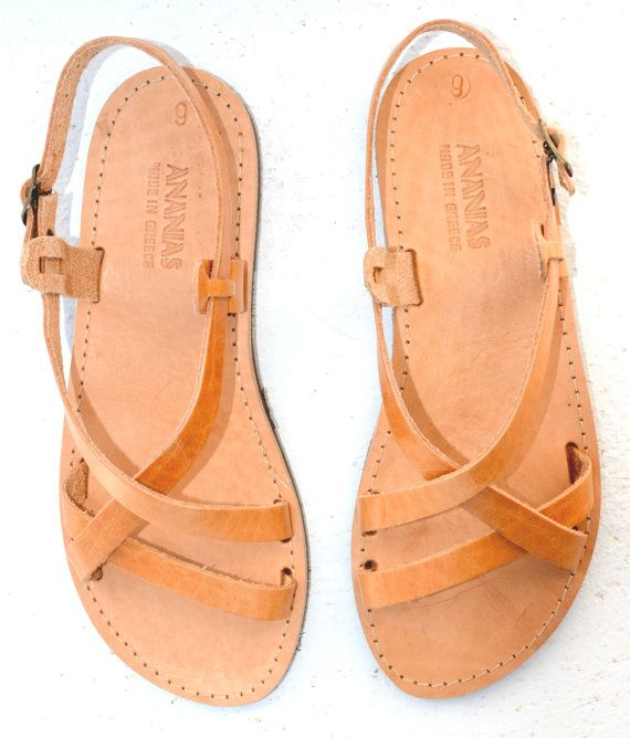 115f31153d6e58 ANANIAS leather sandals handmade in Greece in brown