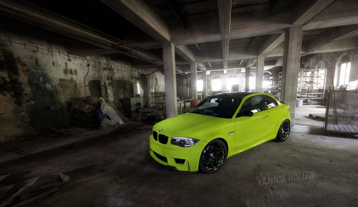 1m Coupe In A Marmite Colour Irie Green Bmw 1 Series Bmw Bmw Sport 2013 bmw 1 series m coupe by