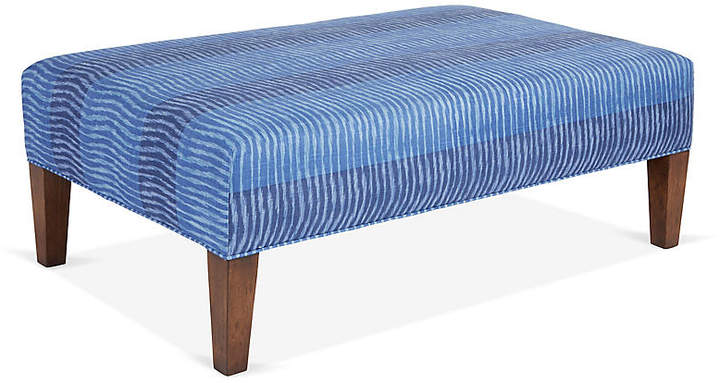 Peachy Cotswold Ottoman Navy Blue Miles Talbott Products In Alphanode Cool Chair Designs And Ideas Alphanodeonline