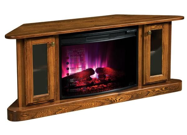 Swell Amish Cascadia Corner Electric Fireplace Tv Stand In 2019 Interior Design Ideas Apansoteloinfo