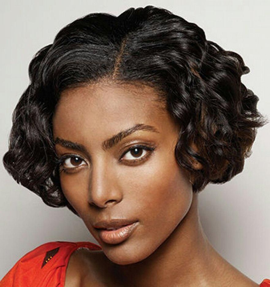 Short Curly Hairstyles For An Oval Face : The Cool Short Curly ...