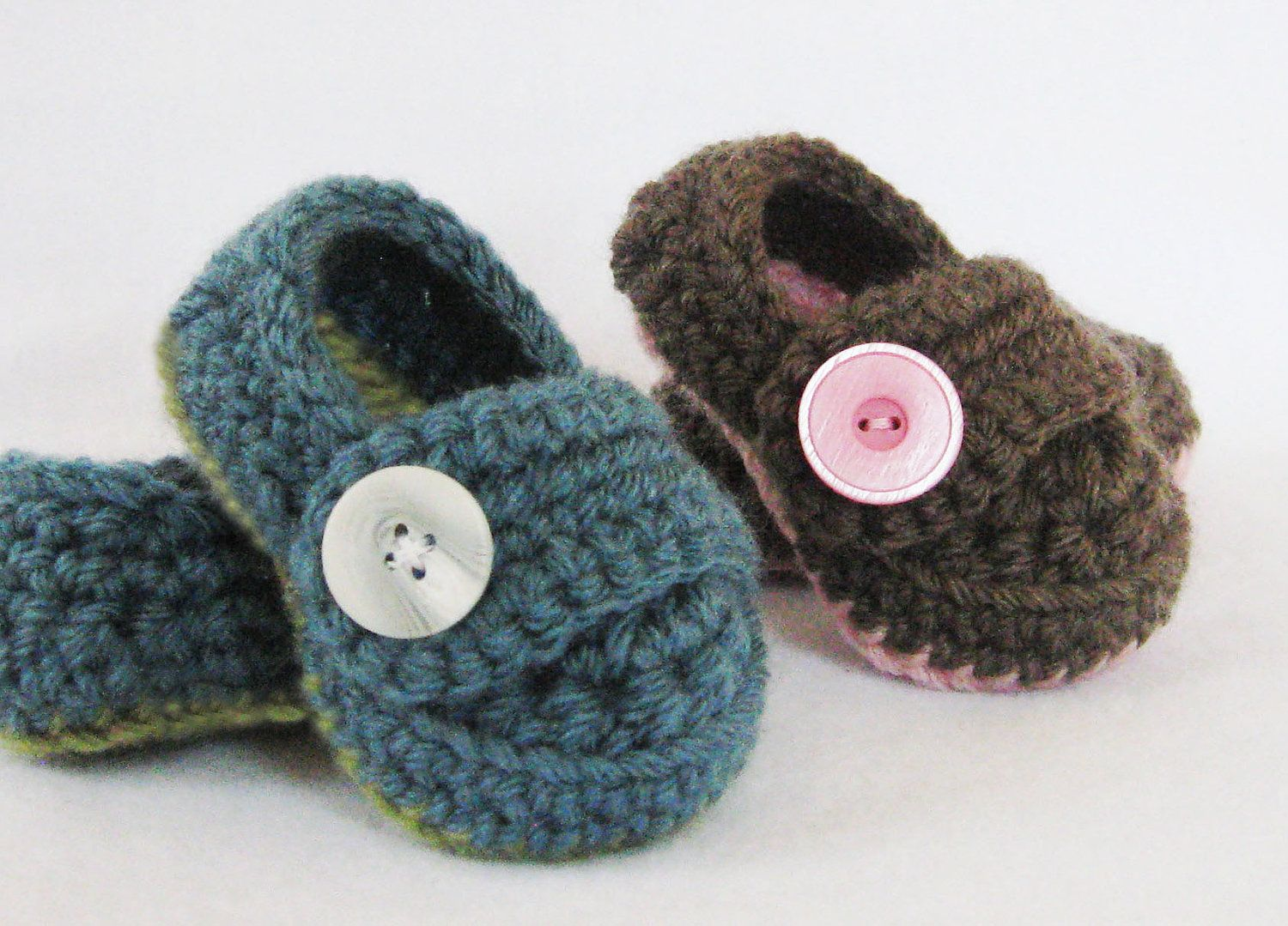 Baby crochet pattern button strap booties 5 sizes included from baby crochet pattern button strap booties 5 sizes included from newborn 24 months instant download bankloansurffo Image collections