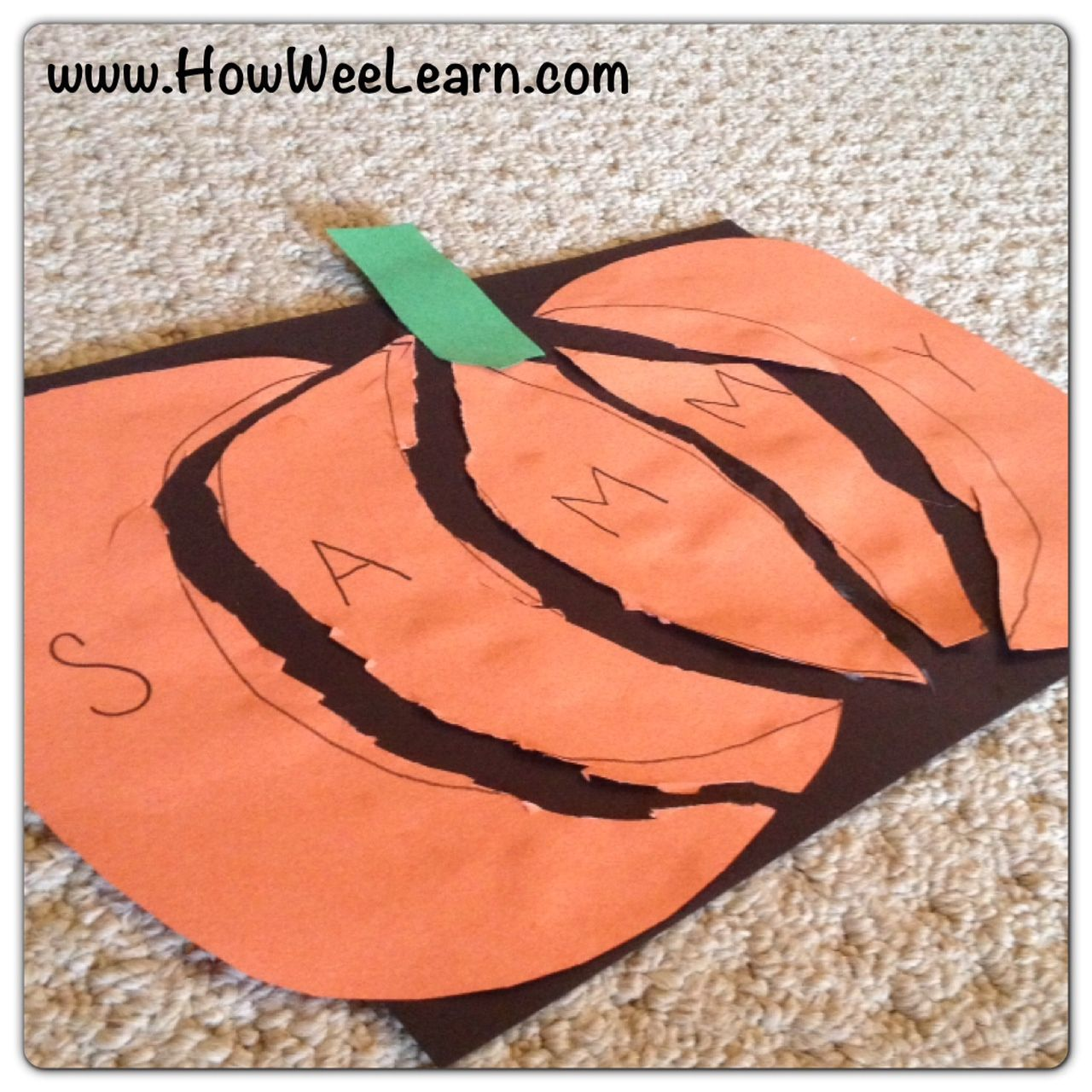 a year full of name puzzles preschool halloween craftsfall preschoolhalloween activitiespreschool - Preschool Halloween Activities