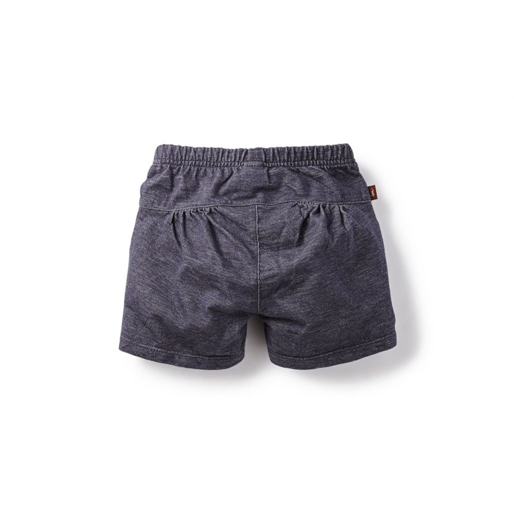 Denim Look Play Shorts | These soft French terry shorts are made for long days of play. And since they look like denim, they look great with everything!
