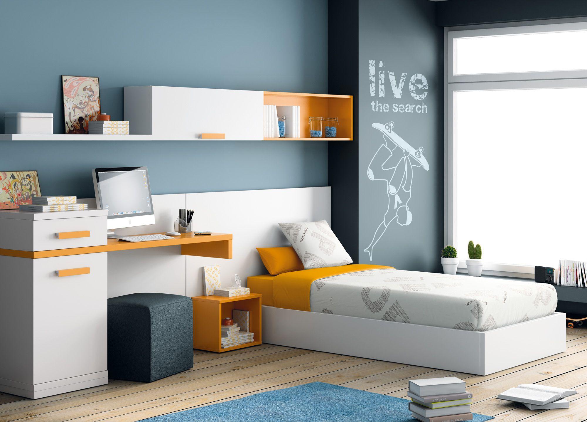 En El Dise O De Una Habitaci N Juvenil Se Debe Aprovechar Al  # Muebles Dash Juveniles