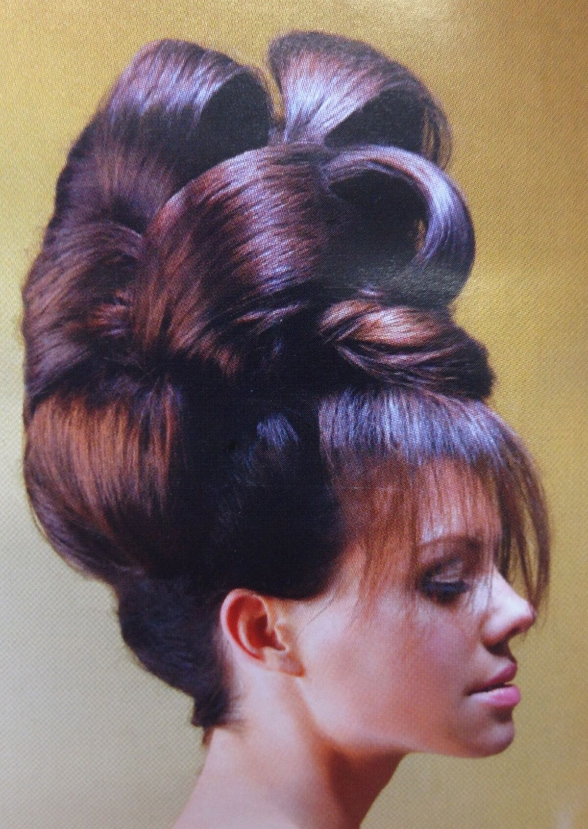 #Hair @jeanettes-hair-obsession (With images) | Teased hair, Chignon hair, Beehive hair