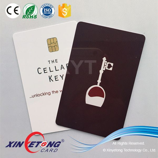 Hotel VIP SEL4442 1K bit chip read/write data contact IC