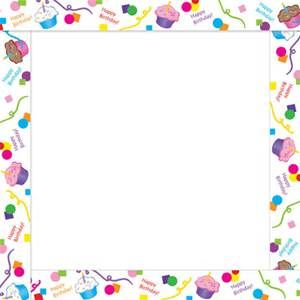 birthday cake Page Borders frames free Bing images Greeting